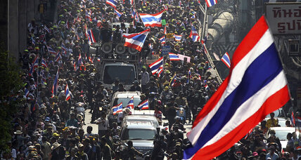 As Thailand braces for contentious election, a deeper regional divide (+video)