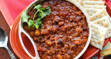 Meatless Monday: Vegan chili