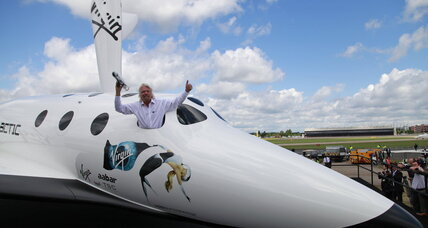 Virgin Galactic edges closer to space in third rocket test flight