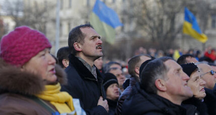 Mayor of 'Ukraine's soul' looks to heal country's divides