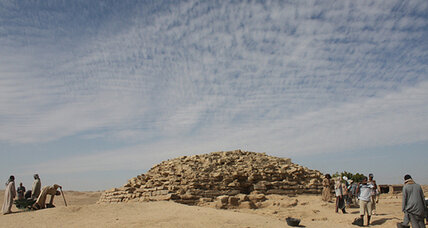 Abandoned pyramid turns out to be a 4,600-year-old wonder
