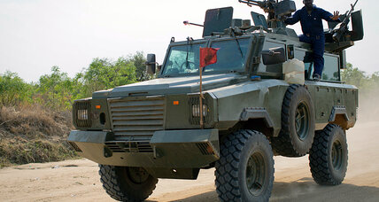 Why is Uganda's Army in South Sudan?