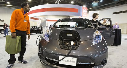 Nissan Leaf sales slip on icy weather (+video)
