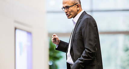 Satya Nadella named Microsoft CEO. Five things on his agenda.