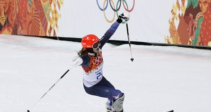 For Julia Mancuso, bronze helps lift Lindsey Vonn's shadow (+video)