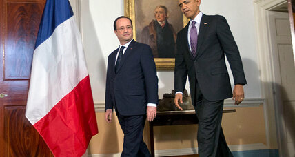 State visit: For Hollande, it's good thing US, France are working hand in glove (+video)