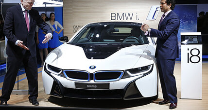 BMW i8 plugin makes Olympics ad debut