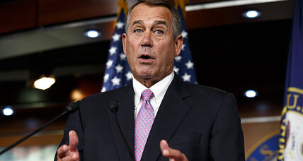 House's John Boehner folds on debt ceiling. Wimpy or wise move? (+video)