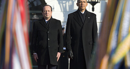 Hollande, Obama team up on climate change, clean energy