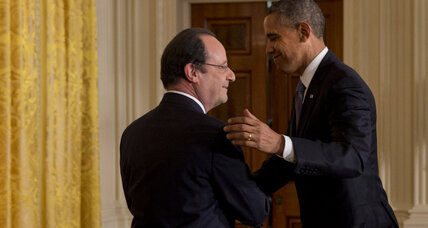 For Obama and France's Hollande, the question du jour: What's for dinner?