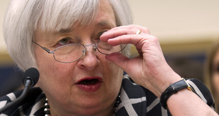 Janet Yellen, in hot-seat testimony to Congress, picks clarity over Fed 'code' (+video)