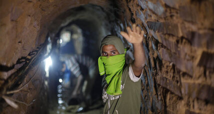 Tunnel closures send Gaza unemployment to highest levels since 2010