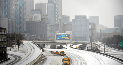 Atlanta ice storm batters power grid. Why ice is worse than snow. (+video)