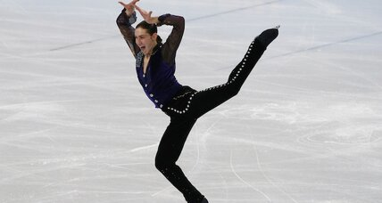 Surprising night at men's figure skating: Could USA's Jason Brown medal? (+video)