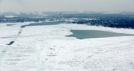 Great Lakes nearing a record for ice, with more winter ahead (+video)