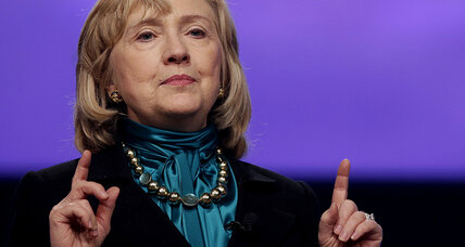 Hillary Clinton tells women to 'grow skin like a rhinoceros.' Good advice? (+video)