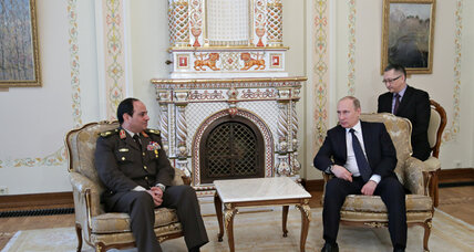 Is Russia looking to increase its sway in the Mideast?