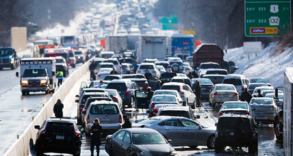 Massive storm's parting shot: Huge pileup on Pennsylvania Turnpike (+video)