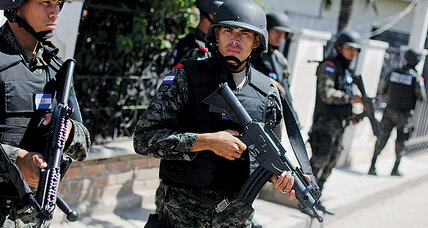 The new 'police recruits' in Latin America: soldiers