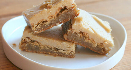 Double caramel bars