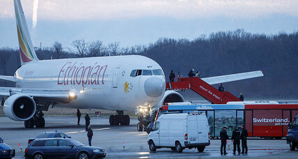 Thrown by unseen enemies, Ethiopian Air hijacker waltzes into Swiss jail