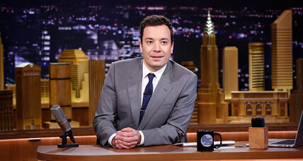 Jimmy Fallon takes over 'Tonight Show.' Will viewers show patience? (+video)