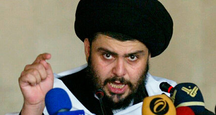 Iraq's Sadr, lion of Shiite poor, quits politics. Boon for Maliki?