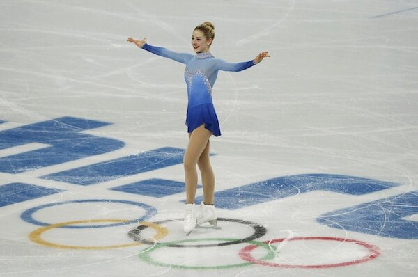 Free skating program at the sochi 2014 winter olympics feb 9 2014