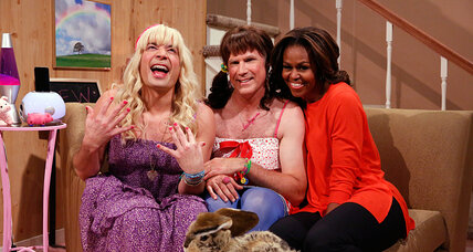 Michelle Obama does sketch comedy with Jimmy Fallon: 'Ew!'