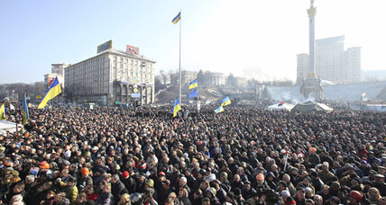 Ukraine government, protesters nearing a deal. Will it last?
