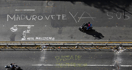 Venezuela protests: Has the opposition cleared a leadership hurdle?