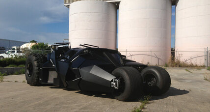 Replica Batmobile could be yours - for $1 million
