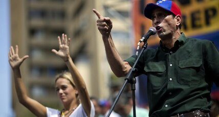 Protests against Maduro unite Venezuela's fractured opposition