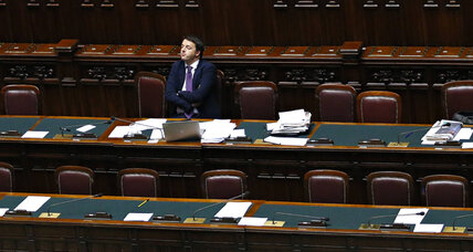 As Renzi takes reins in Italy, a Herculean task awaits (+video)