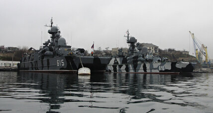 Russia's naval base in Ukraine: Critical asset or point of pride?