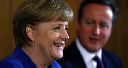 Why Merkel is the key to Cameron's pledge to Britain (+video)