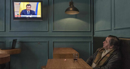Following the Ukraine crisis on the Kremlin's favorite news channel