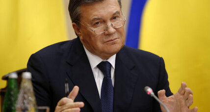 Yanukovych to Europe: Give me back my Ukrainian presidency