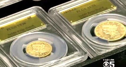 A dog walk in California produces $10 million in rare coins