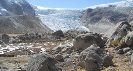 A tropical glacier expanded, and then retreated. Why?