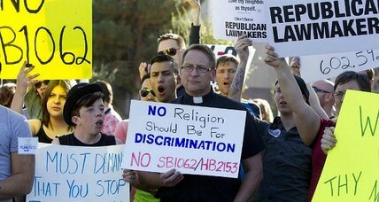 Ariz. Gov. Jan Brewer in pressure cooker over 'anti-gay' bill