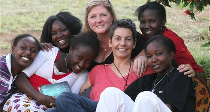 Audrey Forshey gives the gift of education in Kenya