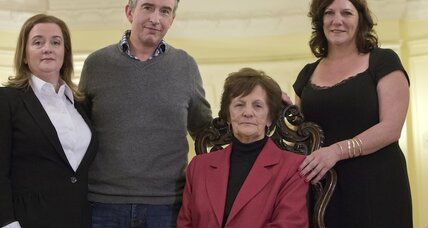 Real-life Philomena presses Pope to open Ireland's forced adoption files