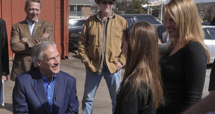 Who needs Ted Nugent? New poll shows Greg Abbott up big in Texas.