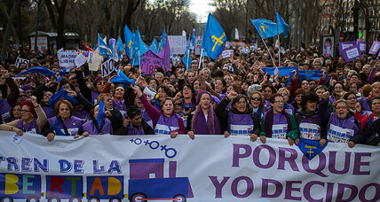 Why Spain is protesting a new anti-abortion law