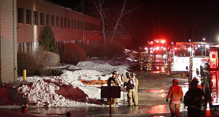 N.H. factory explosion: Explosion at N.H. ball bearings plant injures 15