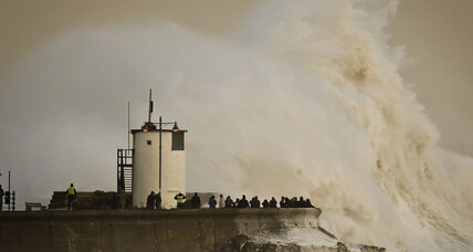 106 mph winds lash Britain