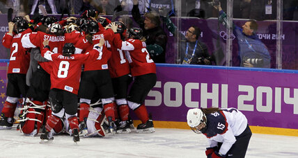 Canada rallies to edge US in women's Olympic hockey final