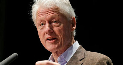 Why is Bill Clinton back on the campaign trail?