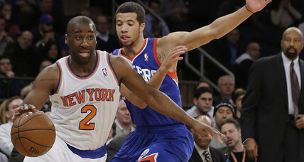 NY Knicks' Raymond Felton arrested on gun charges